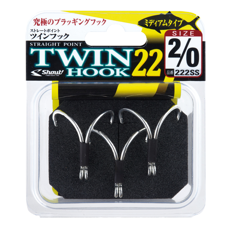 Shout ST Point Twin Hook 222SS на jpmania.ru