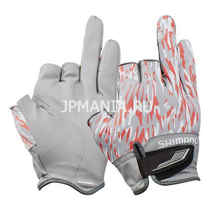 Shimano 3D Advance Gloves 3 GL-021S на jpmania.ru
