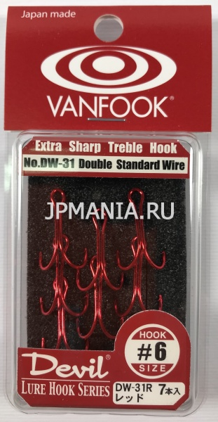 картинка VanFook DW-31 Double Hook Standard Wire на jpmania.ru